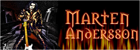 Marten Andersson from Lizzy Borden, George Lynch Group, Lynch Mob, Starwood, Legacy and more